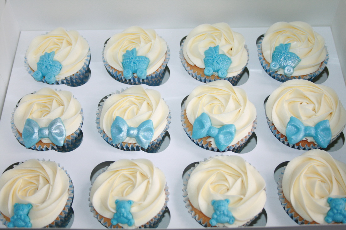 Cupcake Christening Design : Christening, New baby & Naming Day Cupcakes - Mama s Cakes
